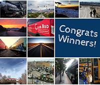 Image of all twelve winning photos from the Treasure Valley On the Go Photo Contest
