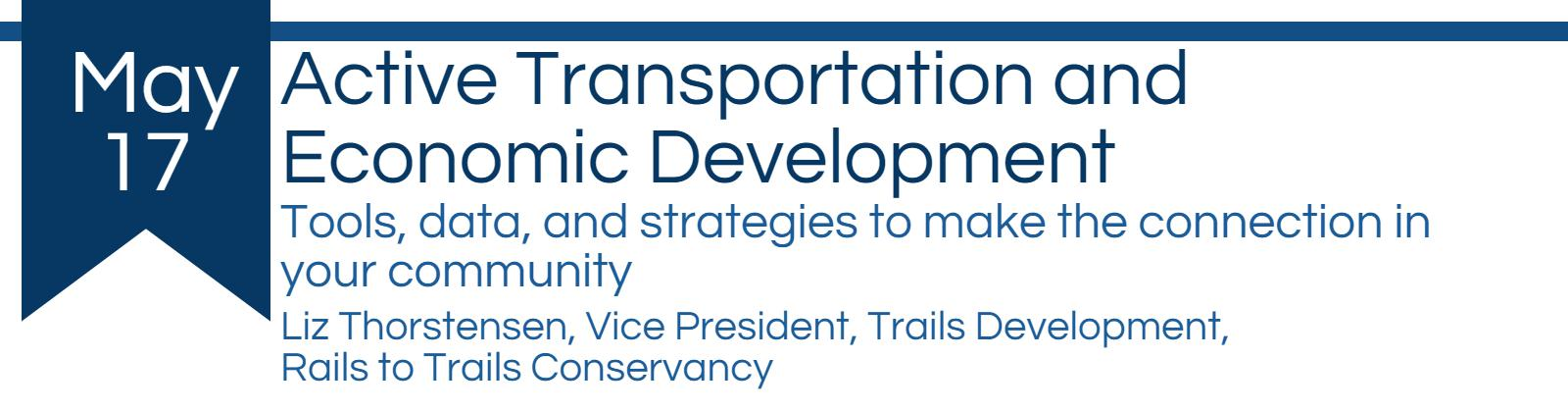 Active Transportation and economic development