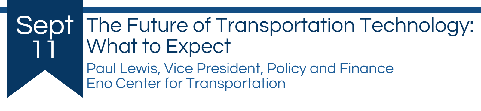 The future of transportation technology: what to expect by Paul Lewis